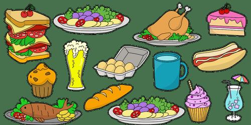 ilustrasi rpph tema kebutuhanku subtema makanan