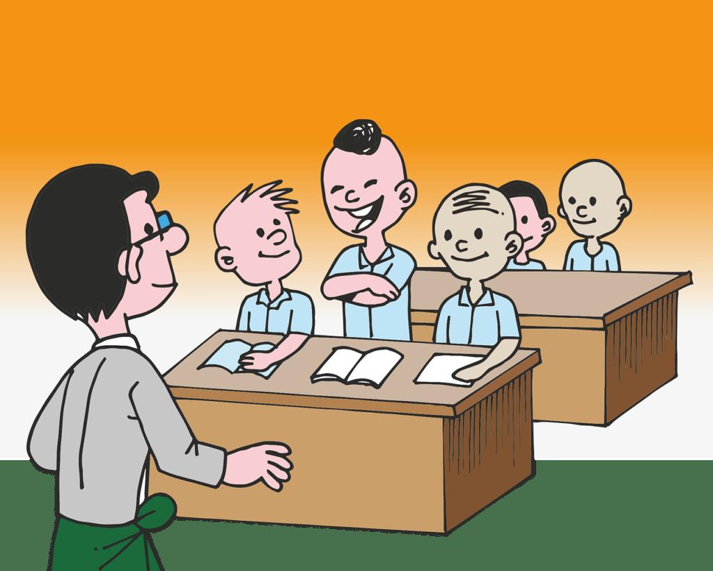 ilustrasi rpph tema pekerjaan guru
